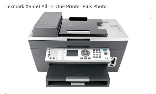 All-in-One! Lexmark X8350