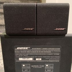 Bose Acoustimass Series 3 Speaker System for Sale in Binghamton,  NY