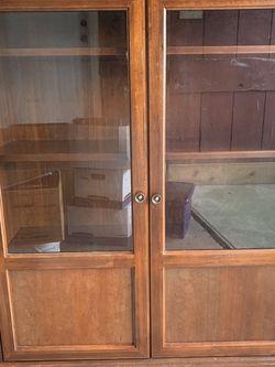 Wooden Cabinet for Sale in Houston,  TX