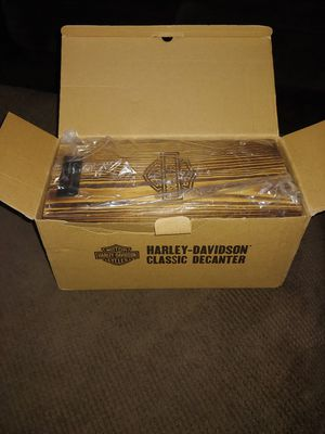 Harley Davidson classic decanter for Sale in Portland, OR