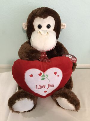 Monkey Gorilla with heart for Sale in La Mesa, CA