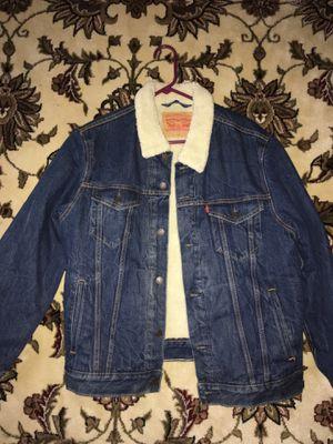 Levis fur jean jacket for Sale in Philadelphia, PA
