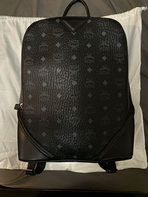 Black Mcm Backpack 100% Authentic for Sale in Glendale, CA