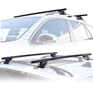 New in box roof mount van ladder cross bar rack adjustable 2 bars for Sale in Los Angeles, CA