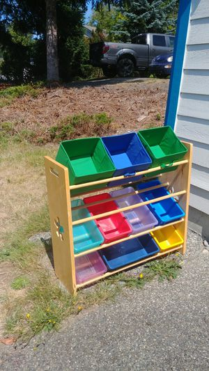 Rack and bins. for Sale in Marysville, WA