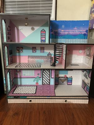 Lol play doll house for Sale in San Jose, CA