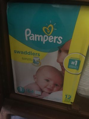 Pampers and Huggins size 1 for Sale in Oakland, CA