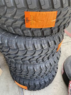 4x mud tires 33x1250-17 $600 no bargaining price firm. No reply if you bargained for Sale in Fontana,  CA