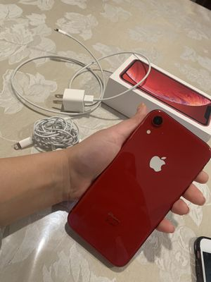iPhone XR product red for Sale in Chino Hills, CA
