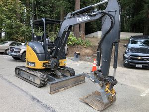 2018 John Deere 35G compact Excavator for Sale in Seattle, WA