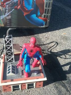 RARE Marvel Spider-Man Voice Lamp MotionLight for Sale in Garden City,  ID