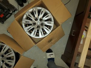 """2012 Toyota Camry Three Black Steel Rims 16"""" x 6.5"""" for Sale in Aurora, CO"""