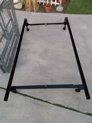 Twin Size Bed Frame Full Size Bed with Metal Box Fold Up Spring for Sale in Whittier, CA
