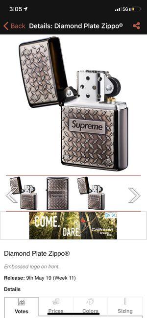Supreme X Zippo lighter for Sale in Bellevue, WA