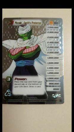 CA. DRAGONBALL Z CARD. HIGH TECH HOLO PICCOLO EARTH'S PROTECTOR # 194 for Sale in San Bernardino,  CA