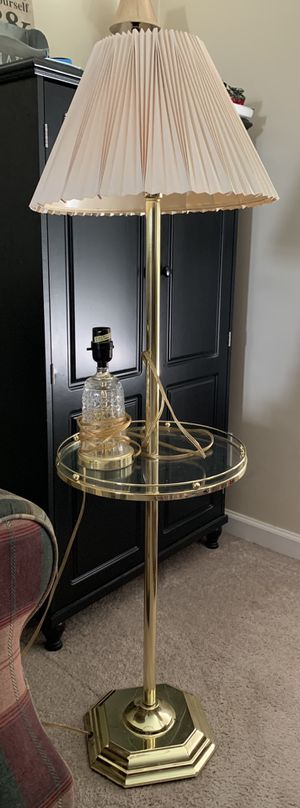 Floor and table lamp for Sale in Obetz, OH