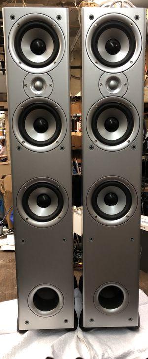 Polk audio speakers T90 e for Sale in Washington, DC