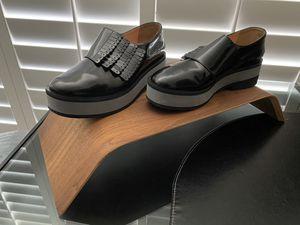 Black leather Robert Clergerie platform oxfords for Sale in Tampa, FL