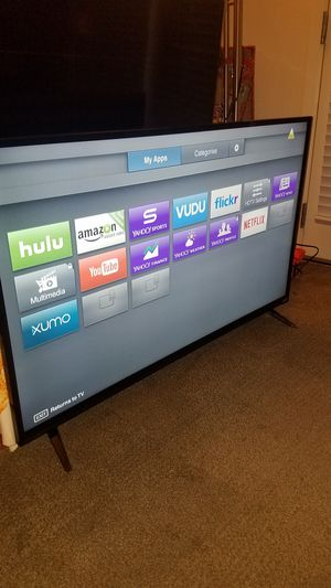 """AS IS NO SOUND.60""""Vizio Led Smart TV wi-fi clear Motion 120hz for Sale in San Jose, CA"""
