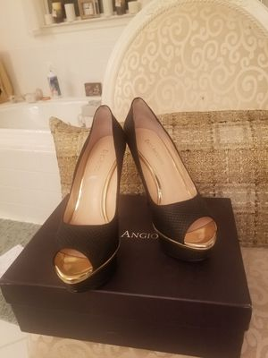 Elegant Enzo Agiolini Black shoes for Sale in Bowie, MD