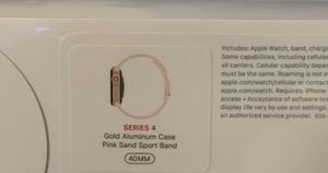Brand new Apple Watch series 4 for Sale in Bolingbrook, IL