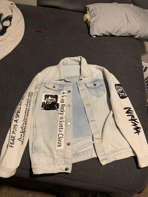 A$ap Rocky jean jacket for Sale in Fresno, CA