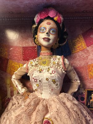 Barbie Signature Dia De Muertos 2020 Doll in Dress and Flower Crown for Sale in Tamarac, FL