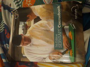 Servsafe coursebook for Sale in Lakewood, CA