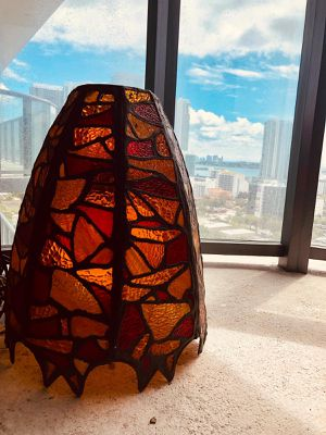 Large Stained glass lamp for Sale in Miami, FL