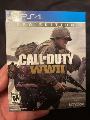 Call of Duty WW2 SteelBook - PS4 for Sale in Anaheim, CA