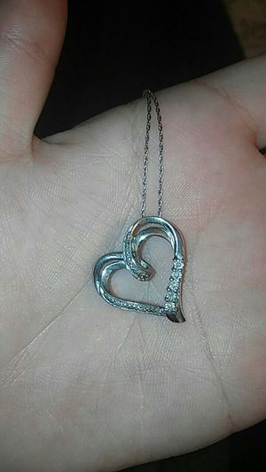 Silver Heart Necklace for Sale in Las Vegas, NV