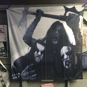 Immortal B&w Band Photo Huge 4ftx4ft Wall Banner Rare! for Sale in Los Angeles, CA
