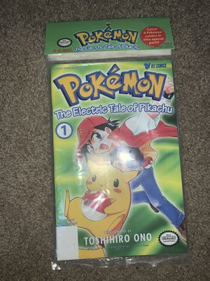 Pokémon Electric Tale Pikachu 1-4 Viz Comic Book Complete Set for Sale in Moreno Valley, CA