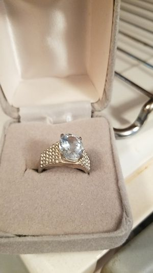 Sterling silver ring. Size 8 for Sale in Cranberry Township, PA