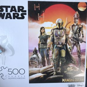 NEW!!! 500 Piece Puzzle STAR WARS MANDALORIAN for Sale in Lawndale, CA