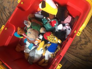 Meanie Babies toys no tags for Sale in Alexandria, VA