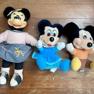 Mickey and Mini Mouse Collectible Stuffed Dolls for Sale in Baltimore, MD