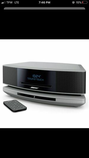 BOSE Wave SoundTouch IV Bluetooth CD Music Speaker System Platinum SILVER for Sale in Orlando, FL