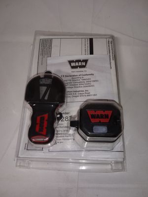 Warn winch wireless remote for Sale in Temecula, CA