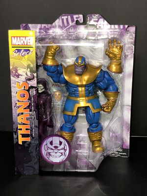 Diamond Select Toys Marvel Select Thanos action Figure for Sale in Brooklyn, NY