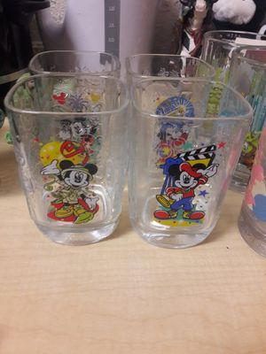 Collectable Mickey Mouse glasses for Sale in Tampa, FL