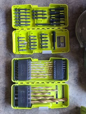 Ryobi Bit set for Sale in Orange, CA