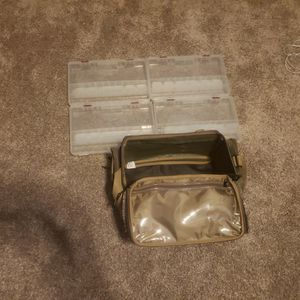 Plano Camo Tackle Bag With 4 Organizers for Sale in Howell, MI