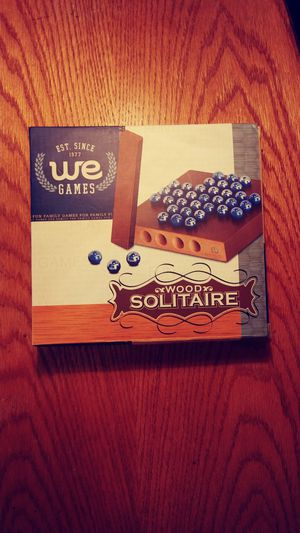 💥 Wood Solitaire game! 😨 for Sale in Portland, OR