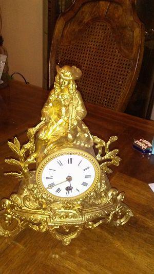 Working antique gold medal clock for Sale in Las Vegas, NV