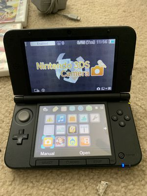 Nintendo 3DS XL with Super Smash Bros (Great Condition) for Sale in Frisco, TX