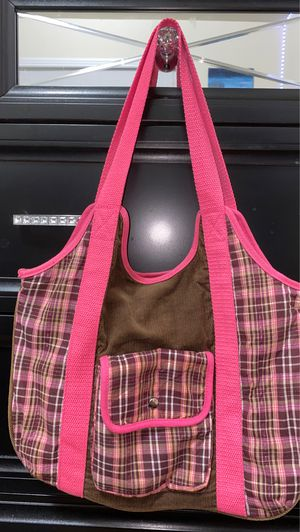 Pink/brown tote bag for Sale in Houston, TX