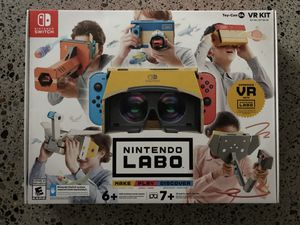 Nintendo Switch Labo VR Kit Toy-con 04 - New! for Sale in Seattle, WA