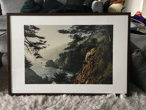 "SOCIETY6 | Big Sur Framed Art Print 26""x38"" for Sale in San Diego, CA"