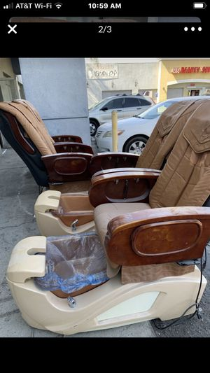 Spa pedicure chairs both must go free for Sale in San Diego, CA